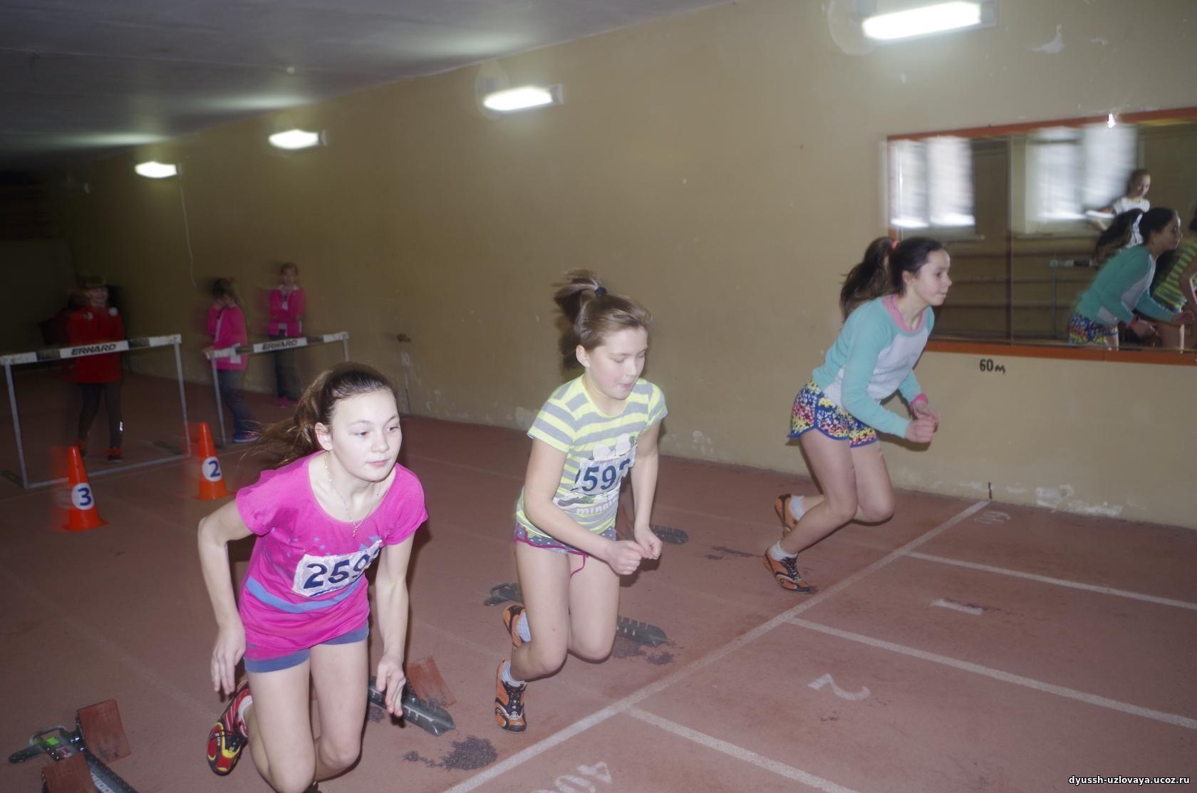 На соревнования приехали лучшие юные легкоатлеты нашей области